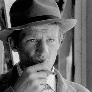 Jean Paul Belmondo in A bout de souffle (Jean-Luc Godard, 1960)